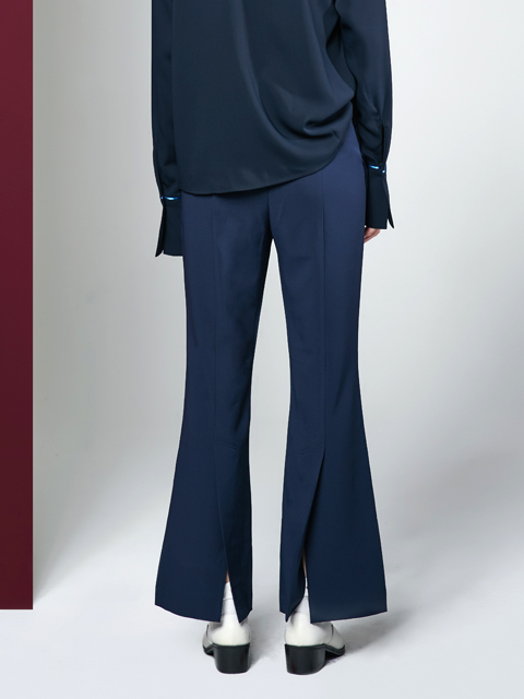 16FW BACK SLIT PANTS