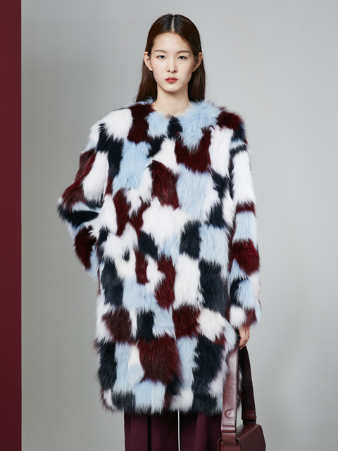 [30%] 16FW MUTIPLE FOX COAT