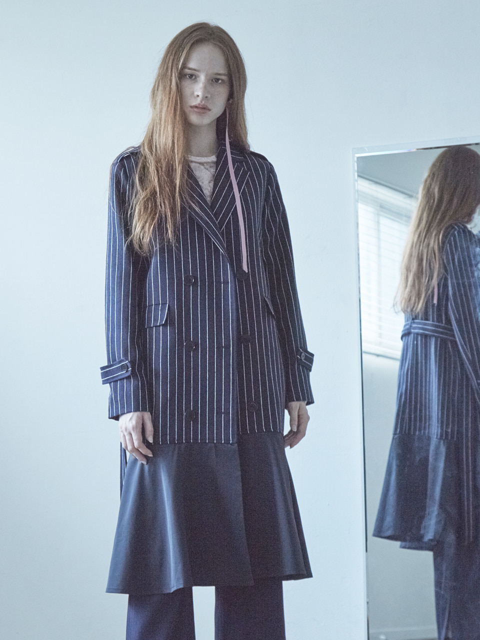 17FW FLARE TRENCH COAT