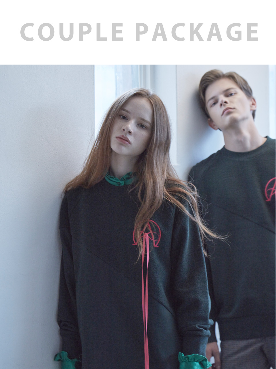 17FW ALPHA OMEGA SWEATSHIRT_COUPLE PACKAGE