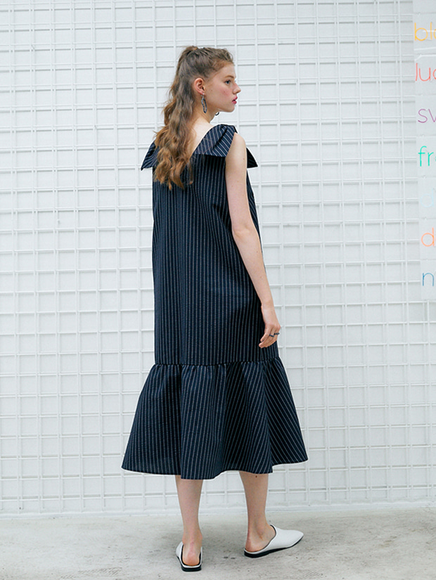 20SS capsule FRESH dress_NAVY